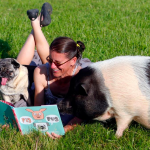 There's a Book About a Real-Life Dog and Pig Friendship and All Is Right with the World